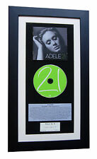 ADELE 21 CLASSIC CD Album GALLERY QUALITY FRAMED+EXPRESS GLOBAL SHIPPING!!
