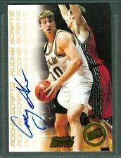 Casey Shaw Basketball Auto 1998-99 Pree Pass '98 Signature Autograph Signed Card