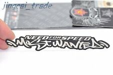 Need For Speed Most Wanted 3D Slim Metal Emblem Badge Decal Sticker Car Auto SUV