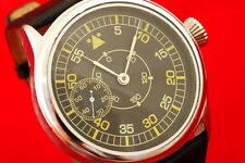 Vintage Russian USSR vs Germany MILITARY style pilots watch LACO 3