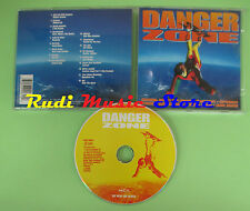CD DANGER ZONE compilation 1996 RED HOT CHILI PEPPERS WHITE ZOMBIE CULT (C23)