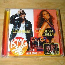 BMG Aug 2008 JAPAN Promo CD Leona Lewis, Usher, Asia Cruise, Psycho Teddy..#C04