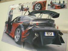 Q64 Poster Mazda RX 8 retro Natalia   Maxi tuning-