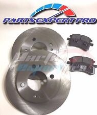 2014-2015 MITSUBISHI MIRAGE BRAKE DISC ROTORS & BRAKE PADS