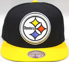 NFL Pittsburgh Steelers Mitchell & Ness Vintage Retro Adjustable Fit Cap Hat M&N