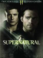 Supernatural: The Complete Eleventh Season 11 (DVD) New, Free Shipping.