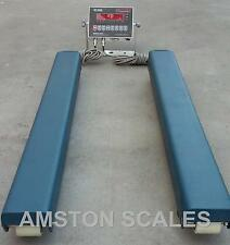 "5000 X 1 LB 40"" WEIGH BARS BEAMS VETERINARIAN LOAD LIVESTOCK SCALE CATTLE CHUTE"