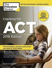 College Test Preparation: Cracking the ACT, 2016 Edition by Princeton Review...