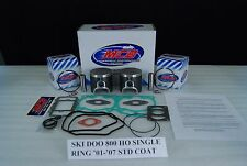 Ski Doo 800HO REV MXZ Renegade Summit SINGLE RING Piston kit complete