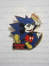 Disney Willabee & Ward Series #01 MICKEY MOUSE (1928) Dancing w/ Hat & Cane Pin