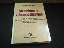 Dr Claude BINET: Vitamines et vitaminothérapie