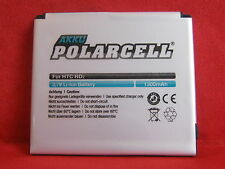 PolarCell Akku Li-Ion 1300mAh BA S400 BB81100 für HTC Firestone HTC Leo HD2  #C#