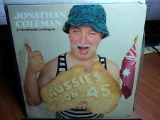 """Jonathan Coleman """"Aussies On 45"""" Great Oz PS 7"""""""
