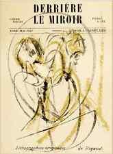 DLM Maeght Paris Lithographies Derrière le Miroir n°3 1947 RIGAUD PARFAIT ETAT