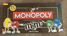 M & m's collectors edition monopoly new & sealed-usa american board game