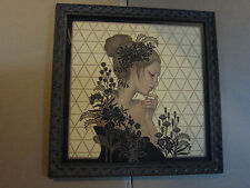Maybe Tomorrow 2014 Framed by Audrey Kawasaki Signed Numbered Giclee Print