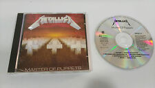 METALLICA MASTER OF PUPPETS CD HEAVY METAL HARD ROCK 1986 ORIGINAL FRENCH PRESS