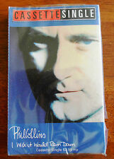 Phil Collins-I Wish It Would Rain Cassingle Card in shrink wrap opened