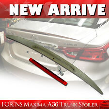 STOCK IN LA!2016UP FOR NISSAN MAXIMA A36 8th Sedan Rear Trunk Lip Spoiler Wing §