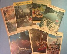 Vintage 1950s Milwaukee Journal Photos of Nature Scenes,Rivers,  Ads, photos
