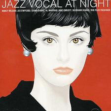 JAZZ VOCAL AT NIGHT - 20 TRACK MUSIC CD - LIKE NEW - E891