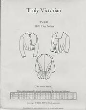 Schnittmuster Truly Victorian TV 400: 1871 Day Bodice