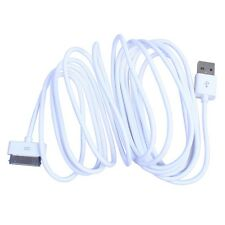 10ft 3M USB Data Sync Charge Lead Cable for Apple iPad 2 iPhone 4 4S 3GS iPod WP