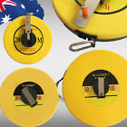 20m 30m 50m Fiberglass Measuring Survey Tape Metric Measure Winder TMETA96