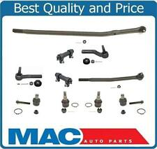92-06 Fits Ford E250 E350 E450 Ford  4 Tie Rods 2 Slev Drag Link 10Pc Kit
