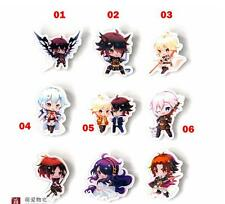 Seraph of the End 2nd/Owari no Seraph 2nd Shinoa Hiiragi Button Badge 9pcs