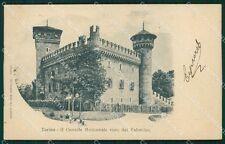 Torino Città Castello Medioevale cartolina XB5413