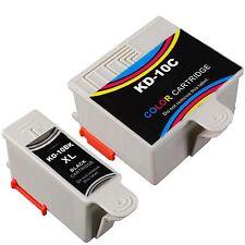 2 Pack #10 Ink Comob for Kodak 10 ESP 3200 3250 5200 5250 7250 9250 Printer