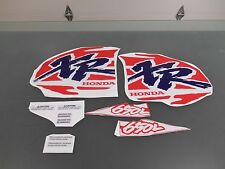 HONDA XR 650L XR650L TANK GRAPHICS DECALS STICKERS THICK  AMERICAN MADE