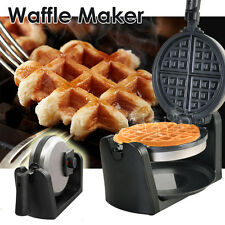 Stainless Waffle Maker Non-stick Plate With Temperature Controller 1000W