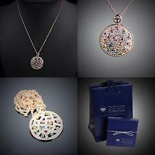Original Design Halskette D'elle Bijoux verziert mit Swarovski® Kristall #R104