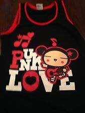 Pucca Club Punk Love Guitar Rock Dress Anime Garu PUCCA Cartoon. Size medium