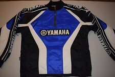 Yamaha Moto-X Motocross Pullover 1/3 Zip Jacket Small Made in Canada Motorcycle