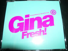 Gina G Fresh Promo CD Single WEA095CDDJ