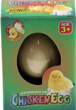 Hatch-em Grow Your Own Pet Chicken - Cracking Chick Egg Novelty Easter Toy