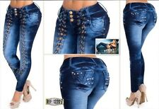 Colombian Butt Lift Imported Jeans .Sizes Available: 1/2,3/4,5/6,7/8,9/10 US