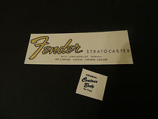Fender Stratocaster Waterslide Decal Logo for Guitar Headstock Repair Project A