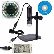 RISEPRO 2MP 1000X USB Digital Microscope Endoscope Zoom Camera Magnifier Android