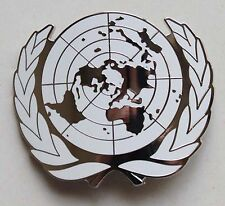 Military UN United Nations Peace Keeping Beret Cap hat Metal Pin Badge - US073