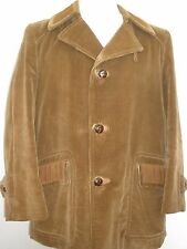 @ CORTEFIEL 1960s CORDUROY BLAZER JACKET MEN SIZE 42 MADE IN SPAIN VINTAGE !!!