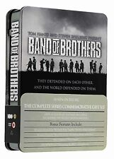 BAND OF BROTHERS Complete HBO TV Mini Series +Bonus Features Gift BoxSet DVD New