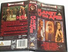 VHS VIDEO ** PLANT OF THE APES ** WIDE SCREEN SPECIAL EDITION - FOX VIDEO