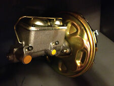 "Chevelle Camaro Nova Delco stamped 11"" power disc brake booster & master cyl"