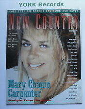 NEW COUNTRY MAGAZINE - December 1994 - Mary Chapin Carpenter / Dolly Parton