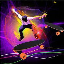 400W Single Motor Electric Longboard Black Skateboard Wireless Remote Control