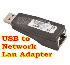 10/100 Mbps USB Male to Female RJ45 Cat5e LAN Network Converter Adapter Dongle